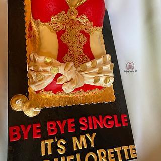 Bachelorette day cake
