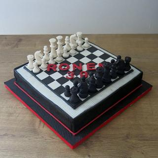 Chess! - Cake by The Garden Baker