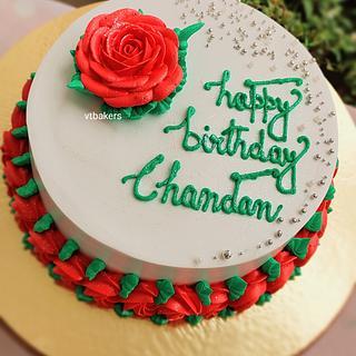 Whipped cream cake - Cake by Arti trivedi
