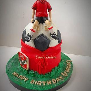 Ahly cake - Cake by Dinadiab
