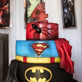 Superheroes!!! - Cake by Cristina Sbuelz