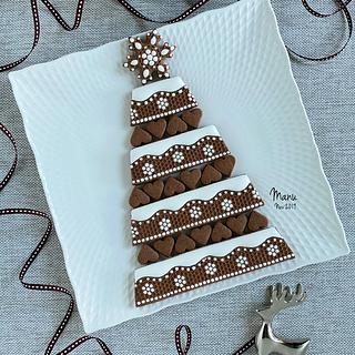 Embossed Christmas Cookie Platter 2019 - Cake by Manu biscotti decorati