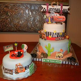 Disney Car-2 Birthday Cake