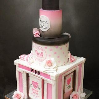 Pink Birthday Cake - Cake by  Sue Deeble