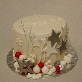 Small winter cake