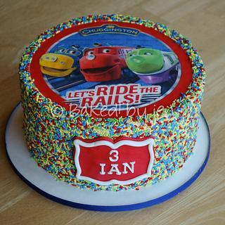 Chuggington Sprinkles Cake