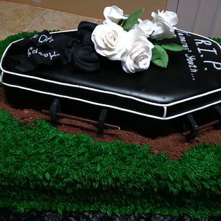 40th Bithday cake