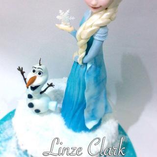 Ruby's Frozen Cake