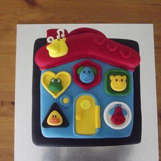 Chocolate Cake made to replicate kids favourite toy