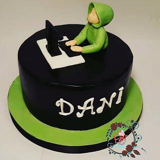 One boy cake