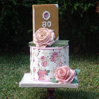 Vinatage cake  - Cake by Margarida Seabra