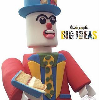 Lego Mini Figures Happy Clown