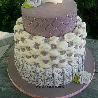 wedding cake - Cake by a little cake house