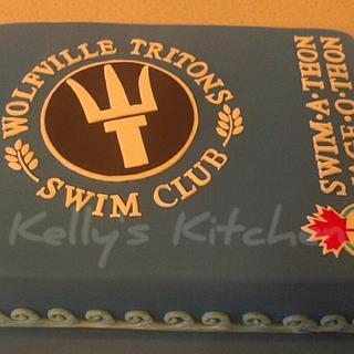 Swim-a-thon cake