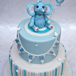 A blue elephant for Archie