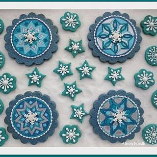 Snowflakes Mandalas