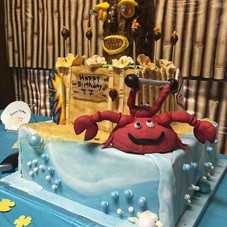 T. J.'s Tiki - Cake by Samantha Dean