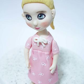 baby doll - Cake by fantasticake by mihyun