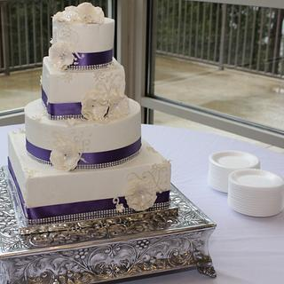 Purple and white fantasy