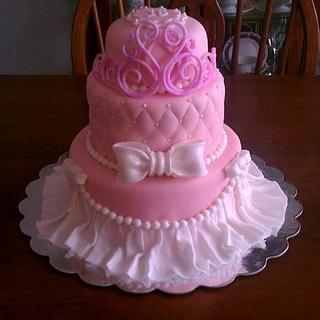 Pagent Cake