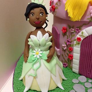Disney princess Castle - Tiana Belle Rapunzel