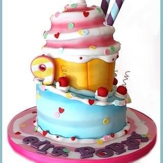 Whimsy Giant Cupcake