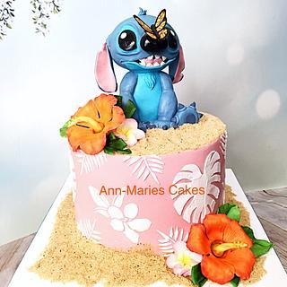 Stitch Birthday Cake