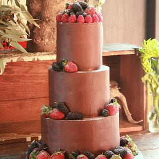 Naked Chocolate & Berries