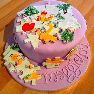 Puzzle Cake
