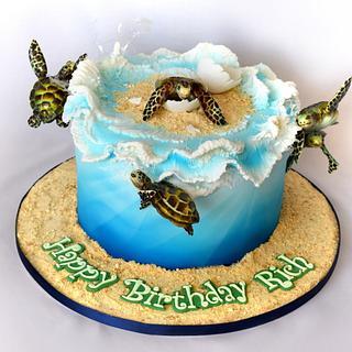 Surfin' Turtle