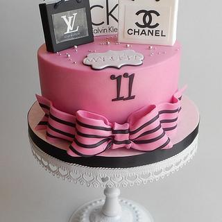 Girls' birthday cake