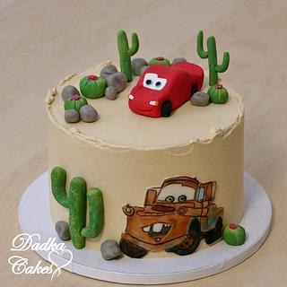 McQueen - Cake by Dadka Cakes