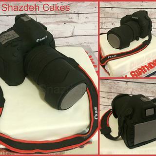 Cannon Camera Cake!