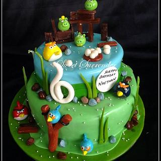 Angry bird  - Cake by Sweet Surrender by Avril