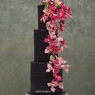Love fr flowers - Cake by Seema Bagaria