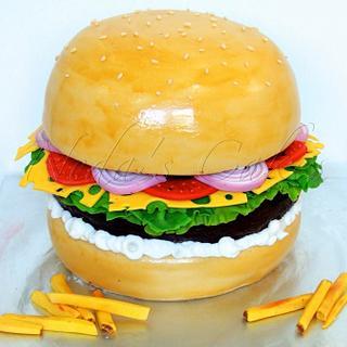 The HUGE Burger!