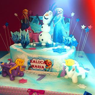 Frozen cakes!