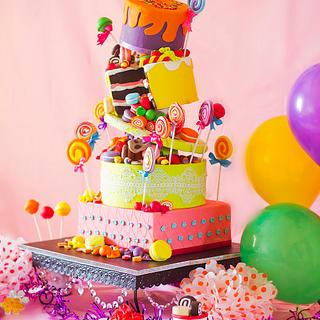 Box of Guilty Pleasures - Cake by Sweet Boutique by Aditi