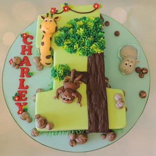 Jungle 1 - Cake by Shereen