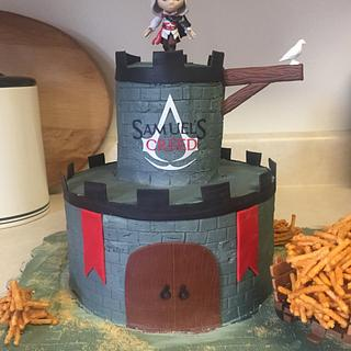 Assassin's Creed - Cake by Julie
