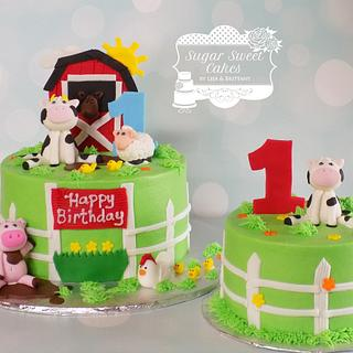 On the Farm - Cake by Sugar Sweet Cakes