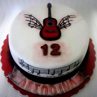 GUITAR CAKE (2D)