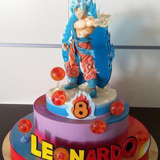 Dragonball super cake