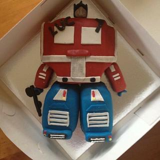 Transformer - Cake by Jenny's Cakery