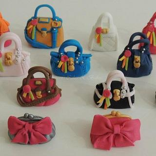 Paul's Boutique Bag Cupcakes