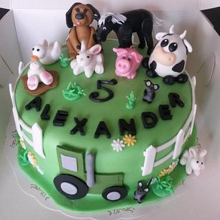Farmers cake! - Cake by Jenny Edman
