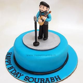 Marvelous Singing Birthday Cake 1 Cake Cakesdecor Personalised Birthday Cards Paralily Jamesorg