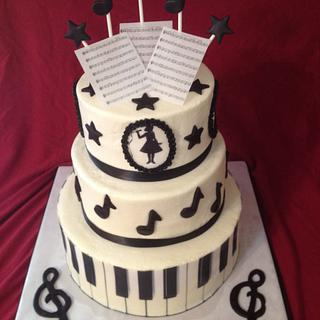 Music to my Mouth - Cake by Cosden's Cake Creations