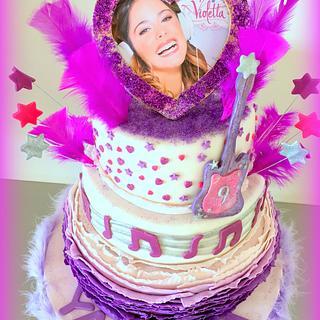 Violetta cake