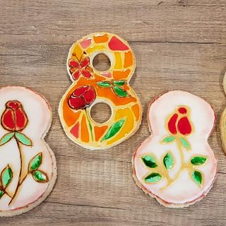 Vitrage cookies